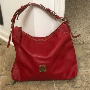Dooney and bourke red purse